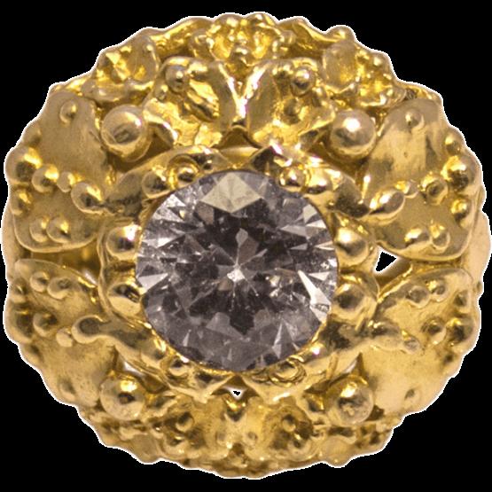 Pierścień złocony Reef